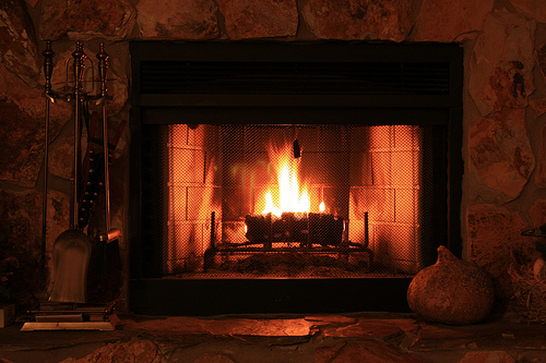 A Fireplace To Warm Your Cold Nights Living Nice